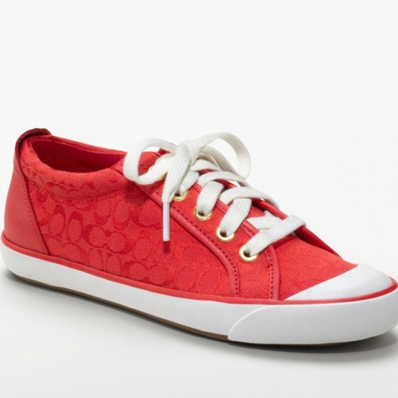 Coach Shoes | Red Barrett Sneakers